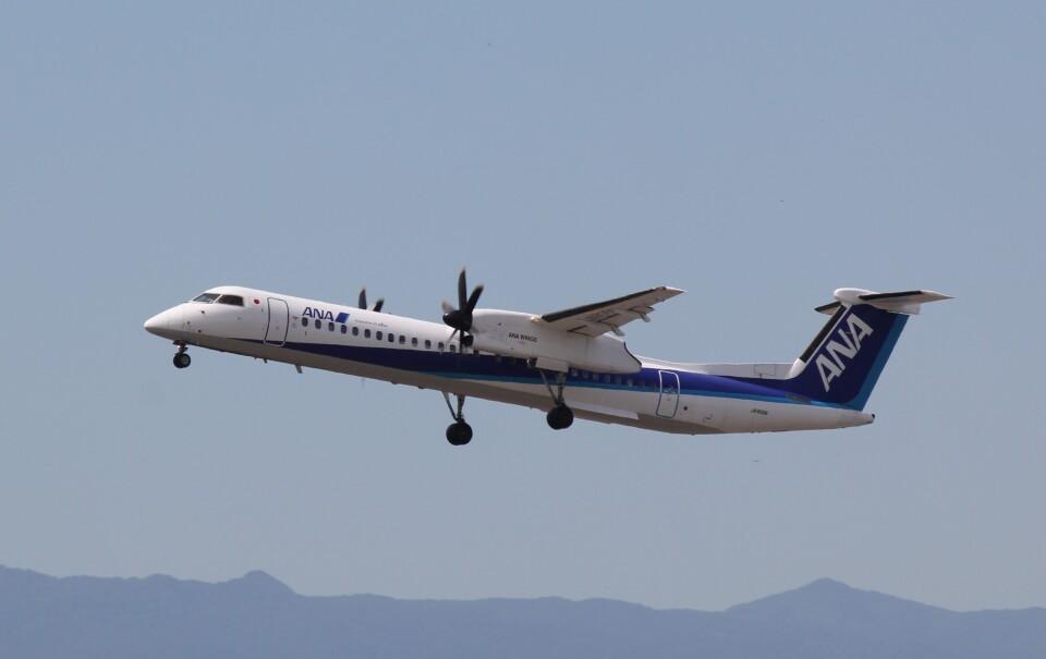 yuu@HKD/RJCHさんのANAウイングス Bombardier DHC-8-400 (JA858A) 航空フォト