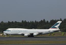 南十字星さんが、成田国際空港で撮影したキャセイパシフィック航空 747-412(BCF)の航空フォト(飛行機 写真・画像)