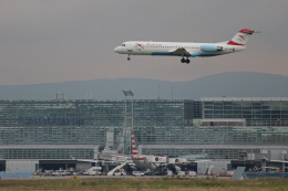 inyoさんが、フランクフルト国際空港で撮影したオーストリア航空 100の航空フォト(飛行機 写真・画像)