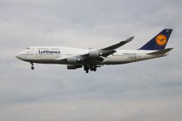 inyoさんが、フランクフルト国際空港で撮影したルフトハンザドイツ航空 747-430の航空フォト(飛行機 写真・画像)