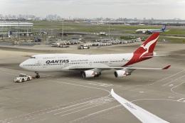 flying_horseさんが、羽田空港で撮影したカンタス航空 747-438/ERの航空フォト(飛行機 写真・画像)