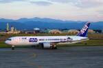 ちっとろむさんが、小松空港で撮影した全日空 767-381/ERの航空フォト(飛行機 写真・画像)