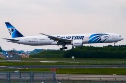 Shimejiさんが、成田国際空港で撮影したエジプト航空 777-36N/ERの航空フォト(飛行機 写真・画像)