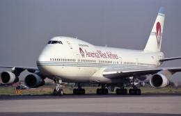 名古屋飛行場 - Nagoya Airport [NKM/RJNA]で撮影されたアメリカウエスト航空 - America West Airlinesの航空機写真