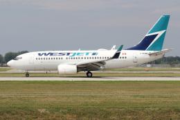 JETBIRDさんが、モントリオール・ピエール・エリオット・トルドー国際空港で撮影したウェストジェット 737-7CTの航空フォト(飛行機 写真・画像)