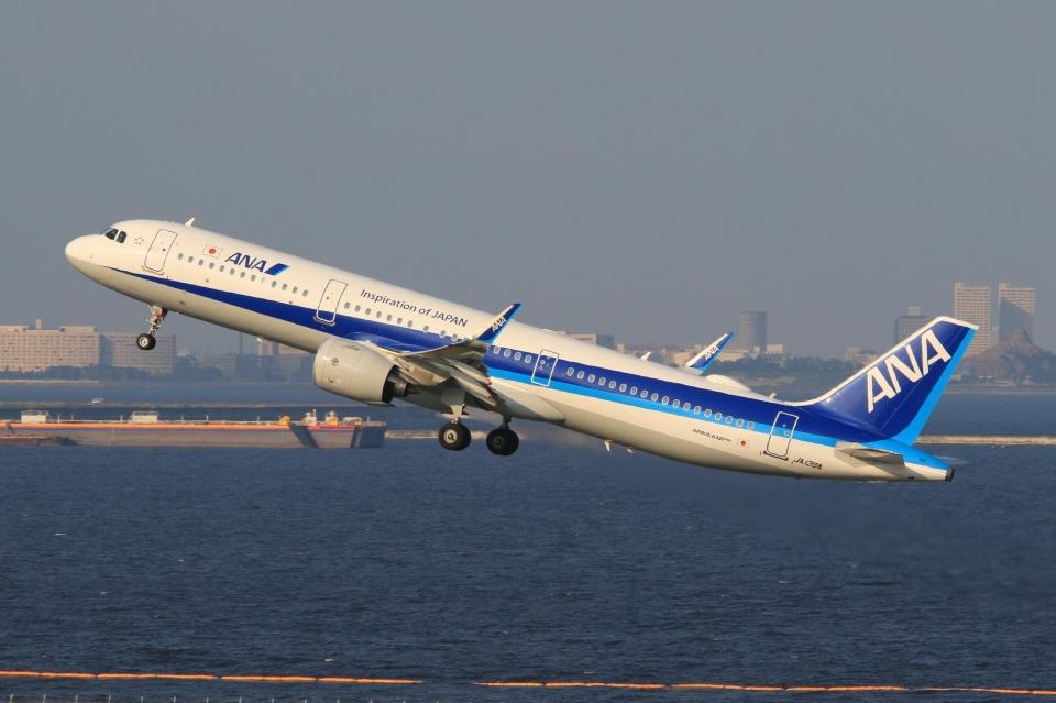 Hiro-hiroさんの全日空 Airbus A321neo (JA139A) 航空フォト