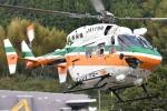 ほてるやんきーさんが、静岡ヘリポートで撮影した静岡県消防防災航空隊 BK117C-1の航空フォト(飛行機 写真・画像)