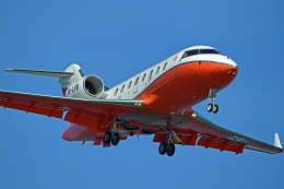 Souma2005さんが、香港国際空港で撮影した香港政府フライングサービス CL-600-2B16 Challenger 605の航空フォト(飛行機 写真・画像)
