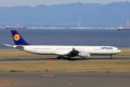 わんだーさんが、中部国際空港で撮影したルフトハンザドイツ航空 A340-642Xの航空フォト(飛行機 写真・画像)