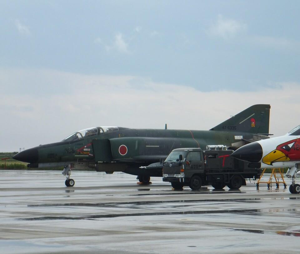 かたつむりくんさんの航空自衛隊 Mitsubishi RF-4EJ Phantom II (47-6335) 航空フォト
