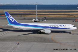 いおりさんが、羽田空港で撮影した全日空 767-381の航空フォト(飛行機 写真・画像)