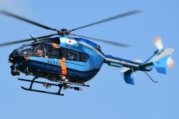 航空フォト:JA11AP 愛知県警察 BK117