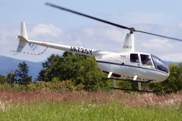 Echo-Kiloさんが、サイロ展望台(支笏洞爺国立公園)で撮影した日本法人所有 R44 IIの航空フォト(飛行機 写真・画像)