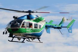 ほてるやんきーさんが、神戸空港で撮影した兵庫県消防防災航空隊 BK117C-2の航空フォト(飛行機 写真・画像)