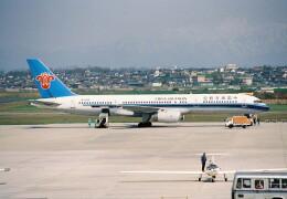 かぐさんが、新潟空港で撮影した中国南方航空 757-21Bの航空フォト(飛行機 写真・画像)