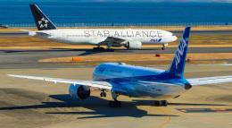 shao804さんが、羽田空港で撮影した全日空 777-281の航空フォト(飛行機 写真・画像)