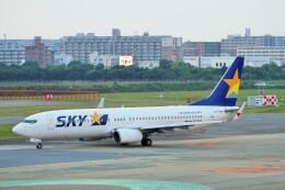 raiden0822さんが、福岡空港で撮影したスカイマーク 737-86Nの航空フォト(飛行機 写真・画像)