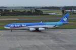 kumagorouさんが、仙台空港で撮影したエア・タヒチ・ヌイ A340-313Xの航空フォト(飛行機 写真・画像)