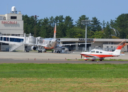 Dreamer-K'さんが、庄内空港で撮影した日本個人所有 PA-28-181 Archer IIIの航空フォト(飛行機 写真・画像)