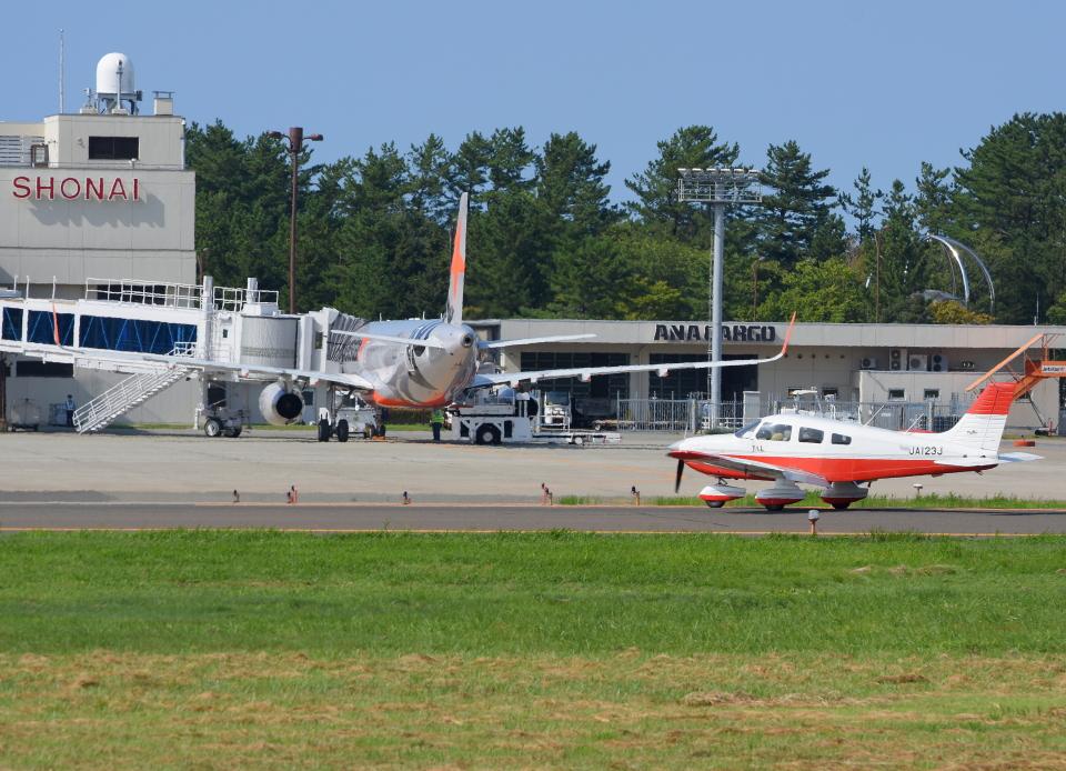 Dreamer-K'さんの日本個人所有 Piper PA-28 Cherokee (JA123J) 航空フォト