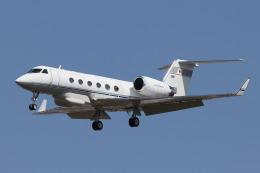 EXIA01さんが、名古屋飛行場で撮影したエム・エイチ・アイ・ファイナンス G-IV Gulfstream IV-SPの航空フォト(飛行機 写真・画像)