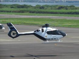 F.YUKIHIDEさんが、岡南飛行場で撮影したグラフィック EC135P3の航空フォト(飛行機 写真・画像)