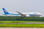 KAMIYA JASDFさんが、成田国際空港で撮影した全日空 787-9の航空フォト(飛行機 写真・画像)