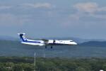 ぬま_FJHさんが、新千歳空港で撮影したANAウイングス DHC-8-402Q Dash 8の航空フォト(飛行機 写真・画像)