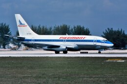 パール大山さんが、マイアミ国際空港で撮影したピードモント航空 737-2Q9/Advの航空フォト(飛行機 写真・画像)