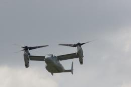 ぼくちゃんさんが、横田基地で撮影したアメリカ海兵隊 MV-22Bの航空フォト(飛行機 写真・画像)