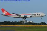 Chofu Spotter Ariaさんが、成田国際空港で撮影したカーゴルクス 747-8R7F/SCDの航空フォト(飛行機 写真・画像)