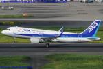 Chofu Spotter Ariaさんが、羽田空港で撮影した全日空 A320-214の航空フォト(飛行機 写真・画像)