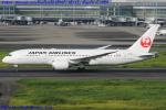 Chofu Spotter Ariaさんが、羽田空港で撮影した日本航空 787-8 Dreamlinerの航空フォト(飛行機 写真・画像)