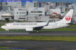 Chofu Spotter Ariaさんが、福岡空港で撮影した日本トランスオーシャン航空 737-8Q3の航空フォト(飛行機 写真・画像)