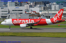 Chofu Spotter Ariaさんが、福岡空港で撮影したエアアジア・ジャパン A320-216の航空フォト(飛行機 写真・画像)