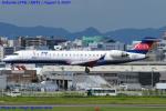 Chofu Spotter Ariaさんが、福岡空港で撮影したアイベックスエアラインズ CL-600-2C10 Regional Jet CRJ-702ERの航空フォト(飛行機 写真・画像)