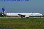 Chofu Spotter Ariaさんが、成田国際空港で撮影したユナイテッド航空 777-322/ERの航空フォト(飛行機 写真・画像)