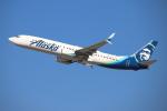 masa707さんが、ロサンゼルス国際空港で撮影したアラスカ航空 737-990/ERの航空フォト(飛行機 写真・画像)