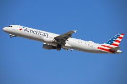 masa707さんが、ロサンゼルス国際空港で撮影したアメリカン航空 A321-211の航空フォト(飛行機 写真・画像)