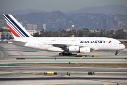 masa707さんが、ロサンゼルス国際空港で撮影したエールフランス航空 A380-861の航空フォト(飛行機 写真・画像)