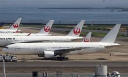 ハム太郎。さんが、羽田空港で撮影した日本航空 777-289の航空フォト(飛行機 写真・画像)