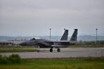 カシオペアさんが、千歳基地で撮影したアメリカ空軍 F-15C-31-MC Eagleの航空フォト(飛行機 写真・画像)