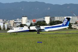 キットカットさんが、伊丹空港で撮影したANAウイングス DHC-8-402Q Dash 8の航空フォト(飛行機 写真・画像)