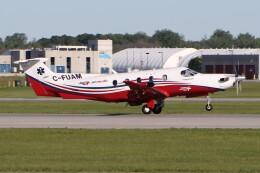JETBIRDさんが、モントリオール・ピエール・エリオット・トルドー国際空港で撮影したPrivate Air Inc. PC-12/47Eの航空フォト(飛行機 写真・画像)