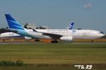 tassさんが、成田国際空港で撮影したガルーダ・インドネシア航空 A330-243の航空フォト(飛行機 写真・画像)