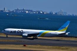 うめたろうさんが、羽田空港で撮影したAIR DO 767-33A/ERの航空フォト(飛行機 写真・画像)