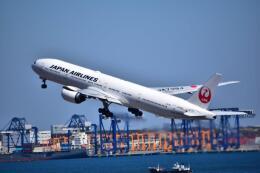 うめたろうさんが、羽田空港で撮影した日本航空 777-346/ERの航空フォト(飛行機 写真・画像)