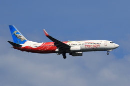 ★azusa★さんが、シンガポール・チャンギ国際空港で撮影したエア・インディア・エクスプレス 737-8HGの航空フォト(飛行機 写真・画像)