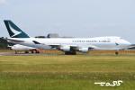 tassさんが、成田国際空港で撮影したキャセイパシフィック航空 747-467F/ER/SCDの航空フォト(飛行機 写真・画像)