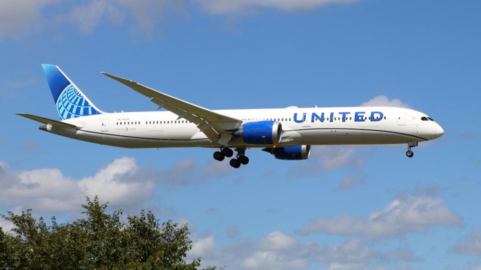 raichanさんのユナイテッド航空 Boeing 787-10 (N12010) 航空フォト